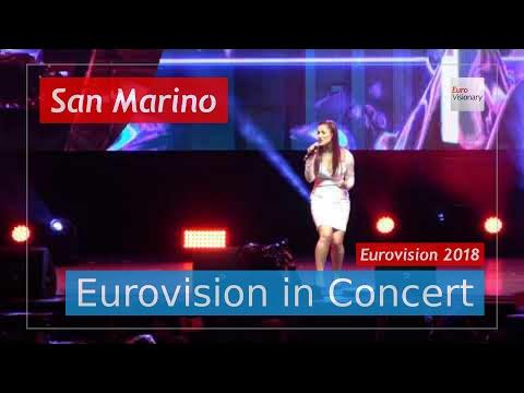 San Marino Eurovision 2018 Live: Jessika featuring Jenifer Brening - Who We Are - EiC