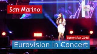 San Marino Eurovision 2018 Live: Jessika featuring Jenifer Brening - Who We Are - EiC