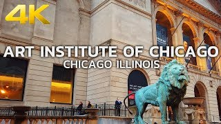 WALKING TOUR | CHICAGO - The Art Institute of Chicago, Downtown Chicago, Illinois