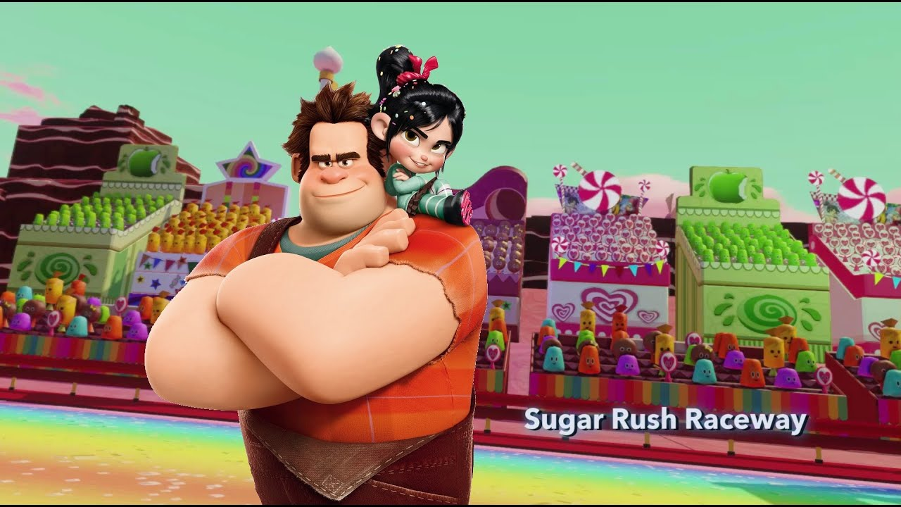 Can you spot all the video game references in Wreck-it Ralph