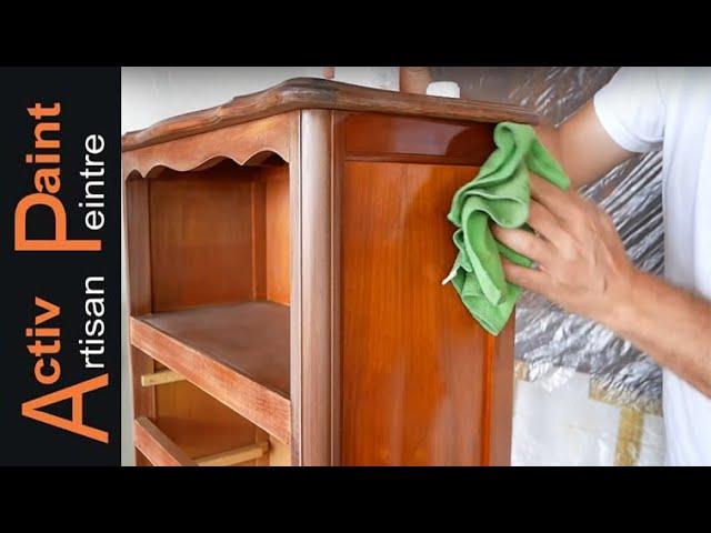 bois vernis peindre un meuble