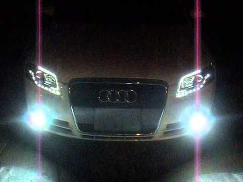 Audi A Projector Headlights YouTube - 2007 audi a4 headlights