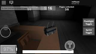 (Suggested) Playing roblox slender man!!!
