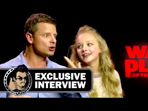 Steve Zahn & Amiah Miller Exclusive Interview for WAR FOR THE PLANET OF THE APES (2017)