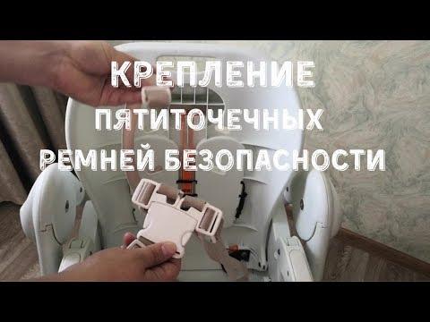 Крепление ремешков безопасности на стульчик - Студия СТРЕКОЗА
