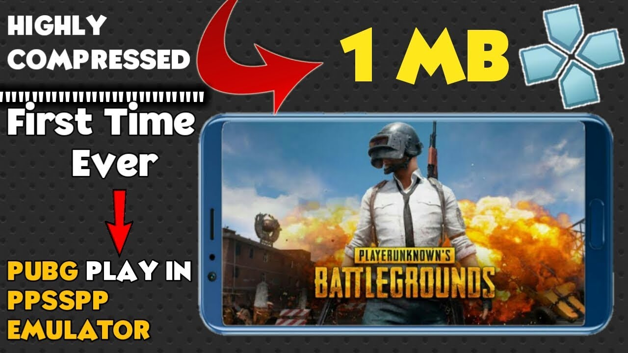 1MB | DOWNLOAD PUBG MOBILE PSP HIGHLY/COMPRESSED | PUBG MOBILE ON ANDROID |  WITH PROOF!!