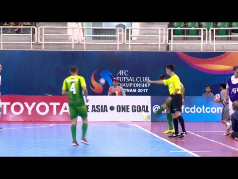 Almalyk vs Bank of Beirut (AFC Futsal Club Championship 2017)