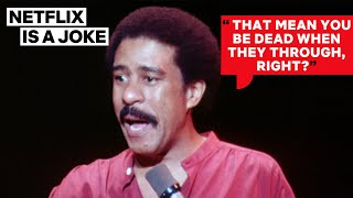 Richard Pryor's 1979 Joke About Police Still Applies  | Netflix Is A Joke