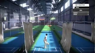 Don Bradman Cricket 14 nets gameplay