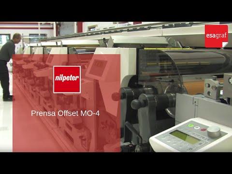 Nilpeter · Prensa offset y flexo MO-4
