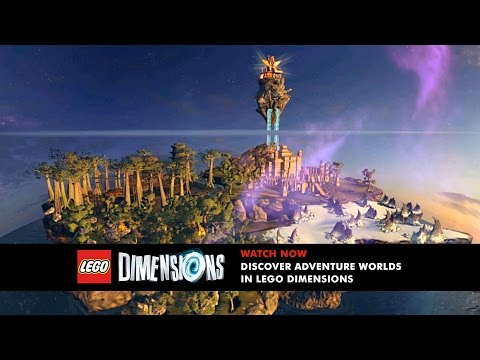 LEGO Dimensions: Unlock and Explore Adventure Worlds
