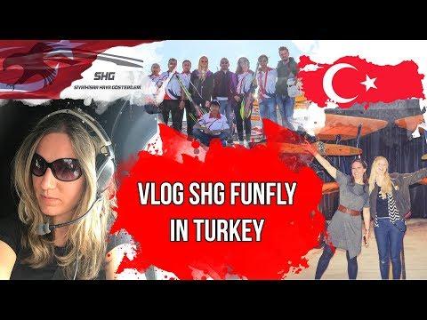 V-Log Türkei // SHG Funfly // I am flying a real helicopter!!!