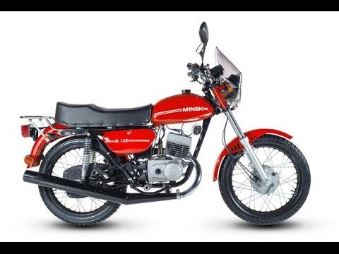 Полная история мотоциклов Минск