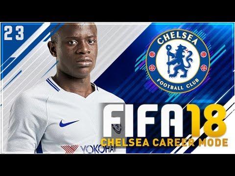 FIFA 18 Chelsea Career Mode S3 Ep23 - UCL SEMI vs MAN UNITED!!
