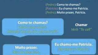 Interactive Portuguese for Begginers - Lesson 1