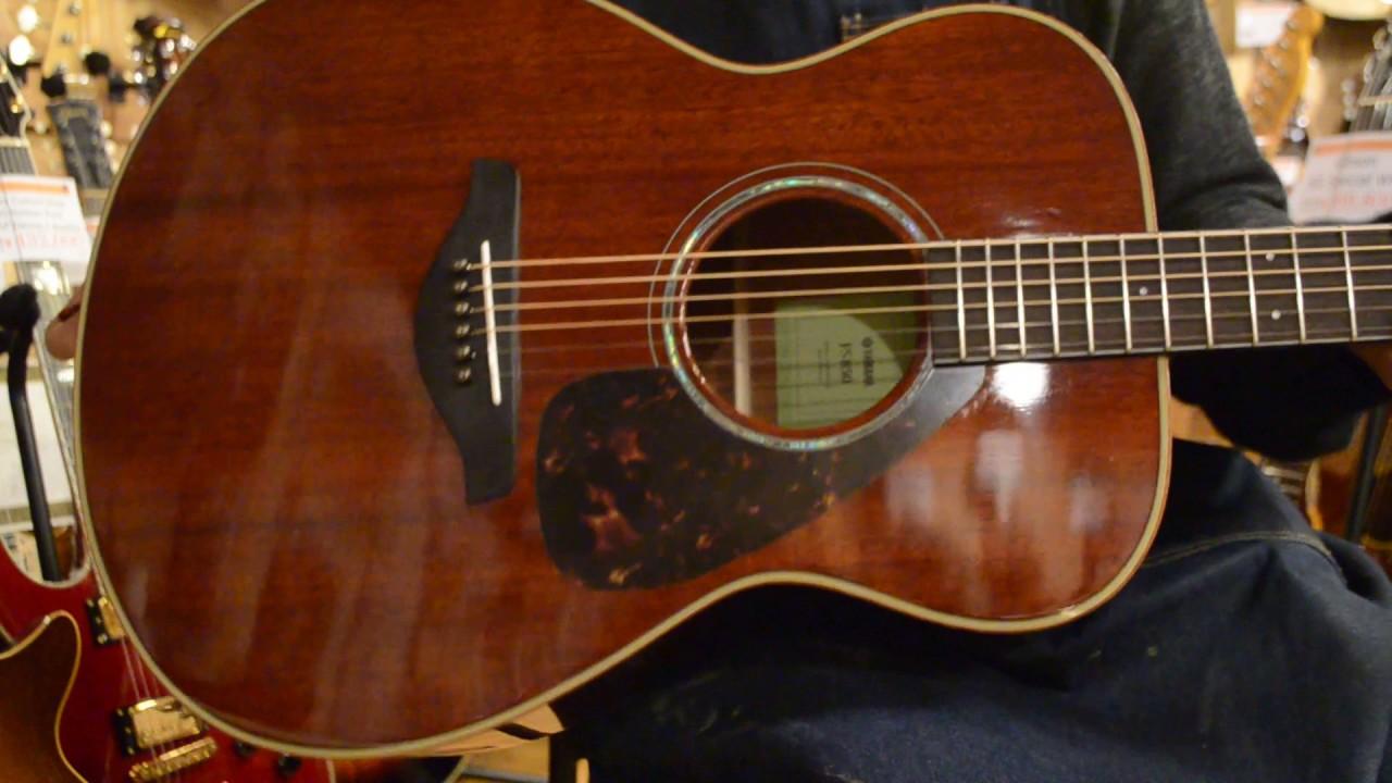 Used yamaha fs 850 guitarshoptantan youtube for Yamaha fs 310 guitar