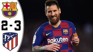 Barce Ona Vs At Etico 2−3   All Gоals And Extеndеd Hіghlіghts   2020