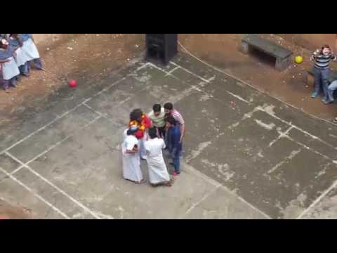 Collage dance chota Mumbai theme Mohanlal