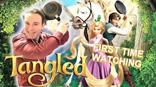 The Best Disney Movie I have seen!! | Tangled Reaction | Every Movie should have Flynn Rider!!