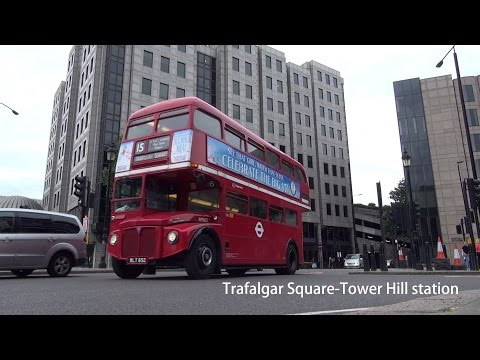 Stagecoach London RM652 Routemaster @ 15H Trafalgar Square-Tower Hill station