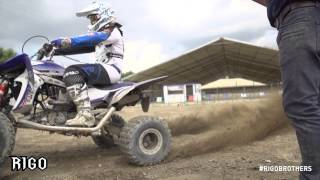 Mattia Papa #160 | ATV Motocross | Yamaha YFZ 450 | Rigo Brothers(, 2015-01-27T17:20:25.000Z)