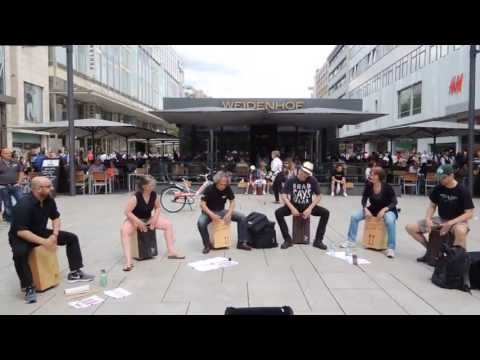 CAJON SAMBA GROOVE /// by Cajon Group Offenbach - Germany