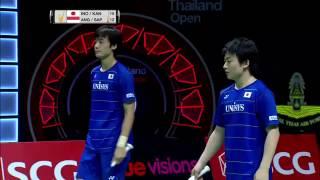 SCG Thailand Open 2016 | Badminton F M3-MD | Ino/Kan vs Ang/Sap