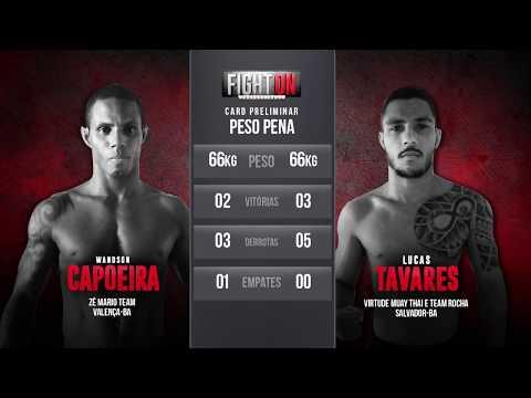 FIGHT ON 6: Wandson Capoeira X Lucas Tavares