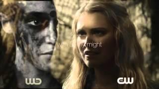 Clarke/Lexa - In my bones lyrics ( story )
