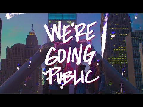 We're Going Public (Lyric Video) - WE ARE ONE