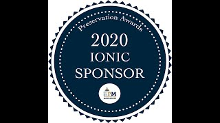 2020 Awards: Ionic Sponsorships in Action – Preservation Circuit Riders