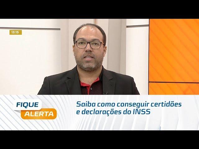 Meu INSS: Saiba como conseguir certidões e declarações do INSS
