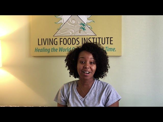 Living Foods Institute Atlanta Testimonial