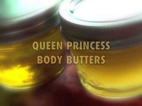 Queen Princess Body Butters