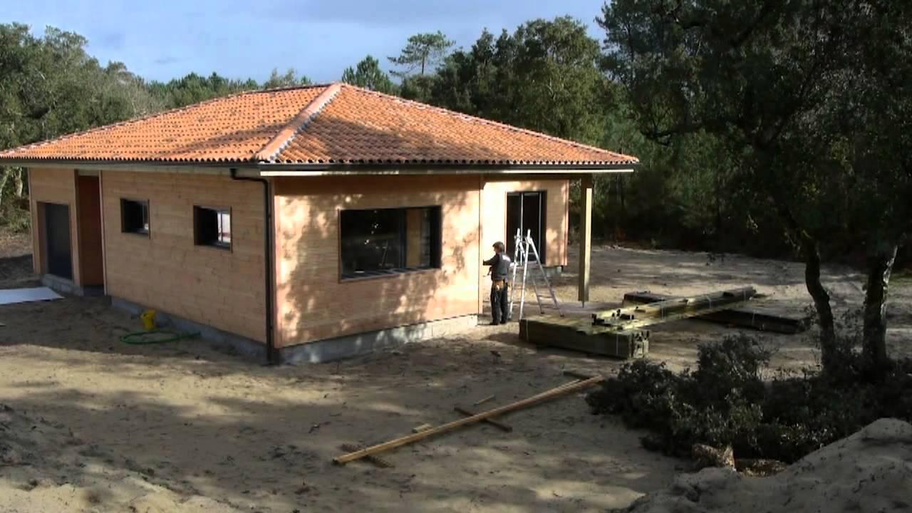 Montage dune maison ossature bois  YouTube ~ Montage Maison Ossature Bois