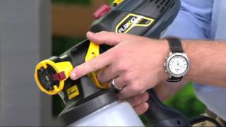 Wagner FLEXiO 570 Indoor or Outdoor Paint Sprayer on QVC