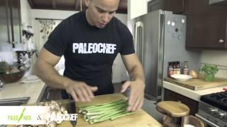 Steve's Paleogoods Seared Steak With Mushrooms And Asparagus