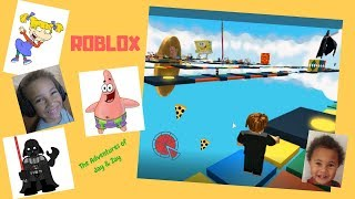 Roblox Nickelodeon Characters Obby