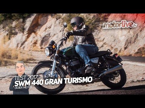 SWM 440 GRAN TURISMO, Le Neo-rétro sportif !   TEST 2017