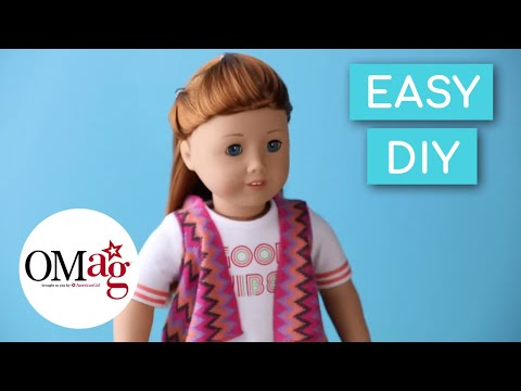 Simple, Cute & Fun Hairstyle For Your Doll | Doll Hairstyles | American Girl