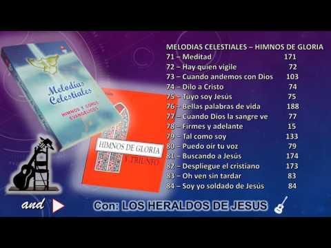 """Melodias Celestiales  (71 al 84) Vol. 7 - """"Los Heraldos de Jesus""""  PERU"""