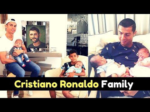 Portuguese Footballer Cristiano Ronaldo Family Photos With Son, Girlfriend, Parents, Siblings