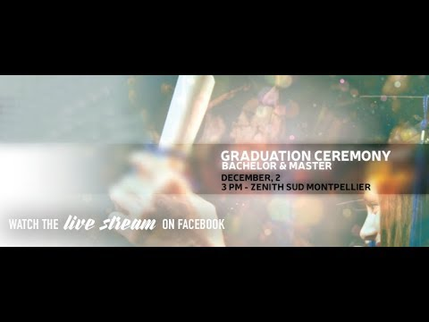 LIVE - 2017 Master & Bachelor Graduation Ceremony
