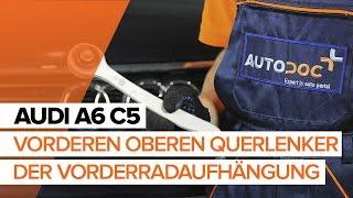 Video-Anweisung zur AUDI Spurlenker Fehlerbehebung