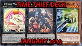 [YGO PRO] Time Thief Deck - January 2019