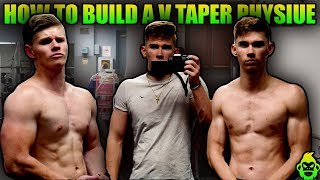How to make your waist look slimmer v-taper physique