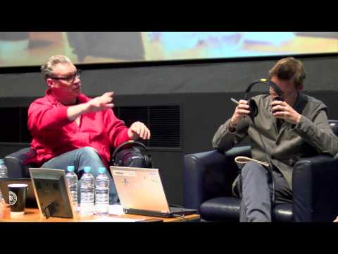 Simon Mayo and Mark Kermode interview Robert Carlyle at Edin
