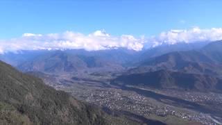 ネパールサランコットからの景色!Nepal Pokhara