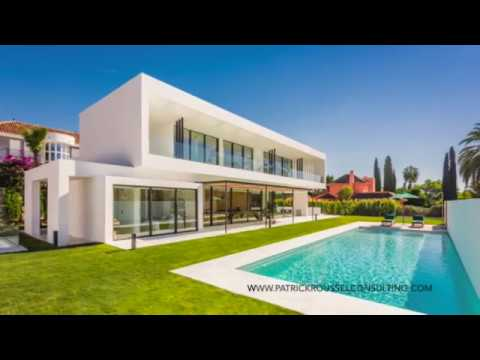 Amazing 6 bedrooms contemporary Villa located in Las Brisas Marbella- Spain