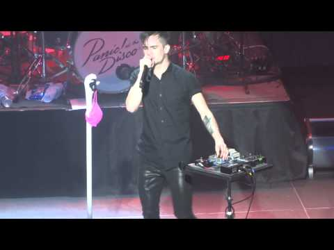 """""""Nearly Witches(Ever Since We Met..."""" Panic! At The Disco@Rams Head Live Baltimore 12/9/13"""